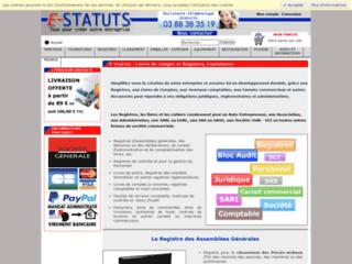 Détails : E-Statuts : guide interactif pour la création d'entreprise