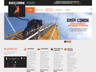 Easycorde, spécialiste des travaux sur corde et nacelle