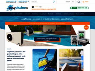 Easypiscine, votre magasin piscine pour vos achats de filtres à sable et autres accessoires
