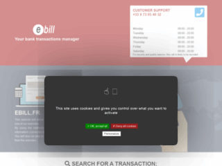 Détails : Comment suivre ses transactions sur ebill.fr?