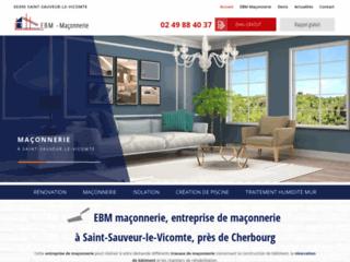 EBM maçonnerie, entreprise de maçonnerie à Saint-Sauveur-le-Vicomte, près de Cherbourg