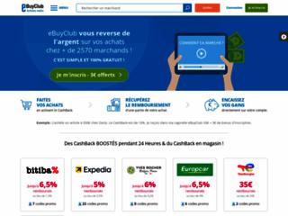 Détails : eBuyClub - CashBack & Codes Promo