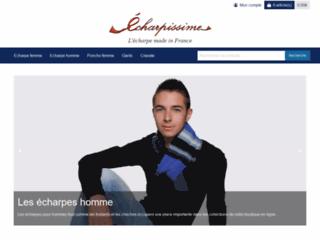 Détails : Echarpissime : des écharpes homme et femme