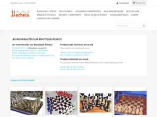 Détails : Boutique échecs : jeu d'échecs en bois