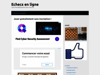 Détails : Jeux d'échecs en ligne