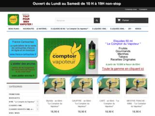 Détails : Vente de cigarette électronique et eliquides