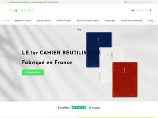 EcoNotebk : cahier réutilisable et écologique