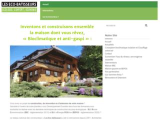 Les Eco-bâtisseurs, pour des maisons bioclimatiques