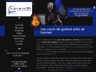 Détails : Ecole de Guitare Chaveneau & Heintz, cours de guitare, Séné