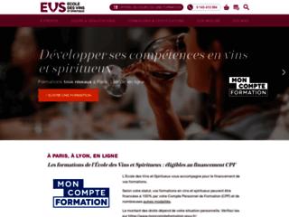 EVS : Ecole des vins et spiritueux en France