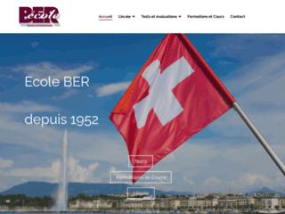 Cours de français l'été - Ecole BER