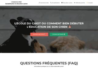 Annuaire des éducateurs comportementalistes canins en positif