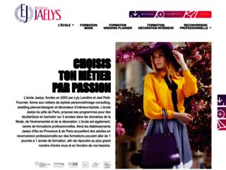 Ecole privé des nouveaux métiers de la mode, mariage et décoration sur Paris et Aix en Provence
