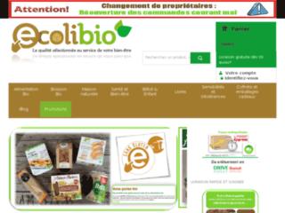 Détails : Ecolibio, vente de produits naturels et biologiques en ligne