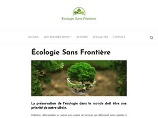 Ecologie Sans Frontière