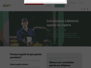 Eco-Pro Extermination - Exterminateur à Montreal