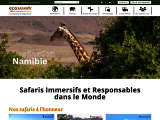 Ecosafaris : tourisme écologique en Namibie