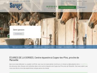 ÉCURIES DE LA SORGES, Centre équestre à Cuges-les-Pins, proche de Marseille
