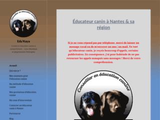 Edukaya - éducateur canin comportementaliste