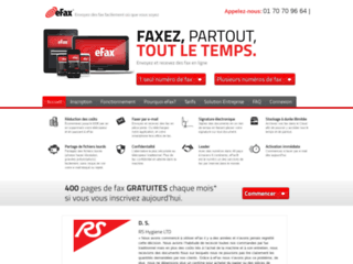 Axiatel, fax par internet