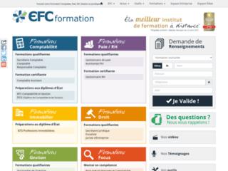 Détails : Une formation comptabilité avec l'EFC