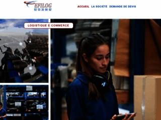 Détails : Leader e logistique externalisez votre logistique e commerce | EFILOG !