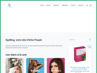Détails : Portraits de célébrités sur Egoblog