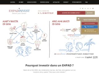 Investir en EHPAD (maisons de retraites médicalisées)