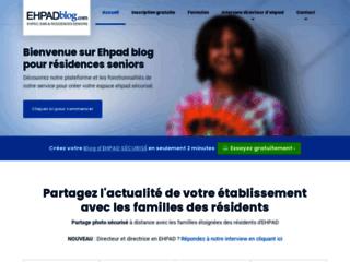 Détails : Blog ehpad sécurisé pour les familles