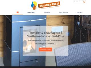 Christian Ehret, chauffage et plomberie à Sentheim