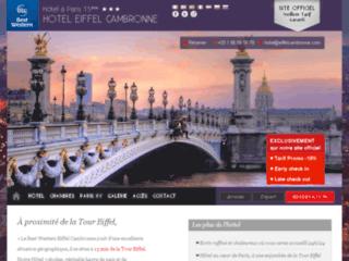 Détails : Best Western Hôtel Eiffel Cambronne, Hôtel 3 étoiles à Paris 15