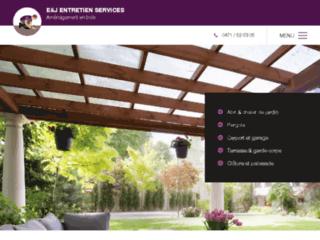 E&J Entretien Services - Construction de chalet de jardin à Tournai