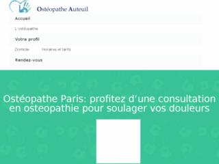 Service d'ostéopathes à Paris