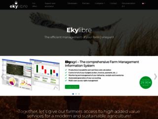 Une gestion d'exploitation agricole connecté