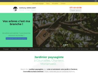 Anthony Annicaert, jardinier paysagiste à Courcelles et Charleroi