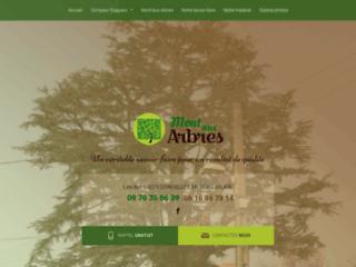 Détails : Mont'aux Arbres : entreprise d'élagage à Villefranche-sur-Saône (69)