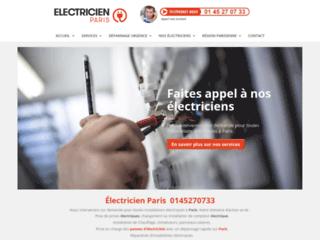 Prestations électriques à Paris
