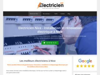 Electricien Nice - Rénovation électrique - Artisan électricité