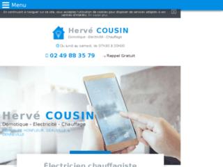Hervé COUSIN, électricien chauffagiste à Honfleur
