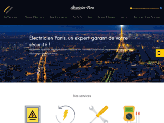 Détails : Électricien grand Paris