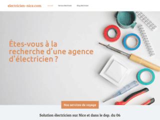 Électricien à Nice