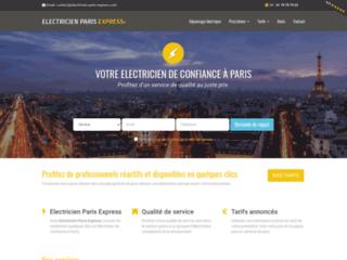Electricien Paris Express