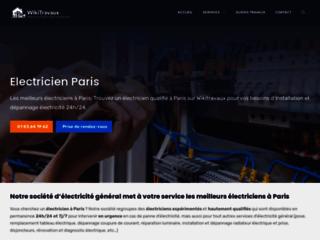 Electricien Paris - travaux et rénovation électrique