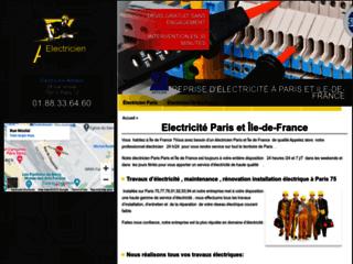 Détails : Electricien Combs-la-Ville