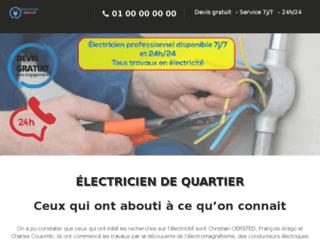 Détails : Service d'urgence en électricité