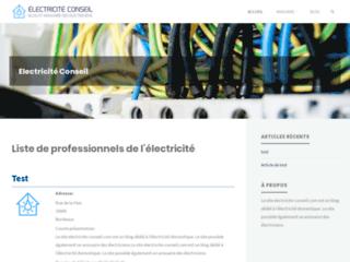 Electricité Conseil, votre blog des électriciens