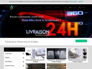 Détails : Impression en ligne et création graphique - Tarifs en ligne