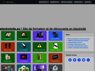 Electrotoile - Formation électrique