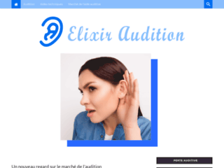 La plateforme d'information et d'actualité sur le marché de l'audition