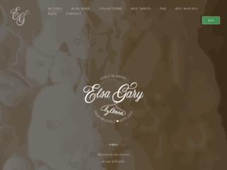 Robes de mariées de création Elsa Gary - Bruxelles